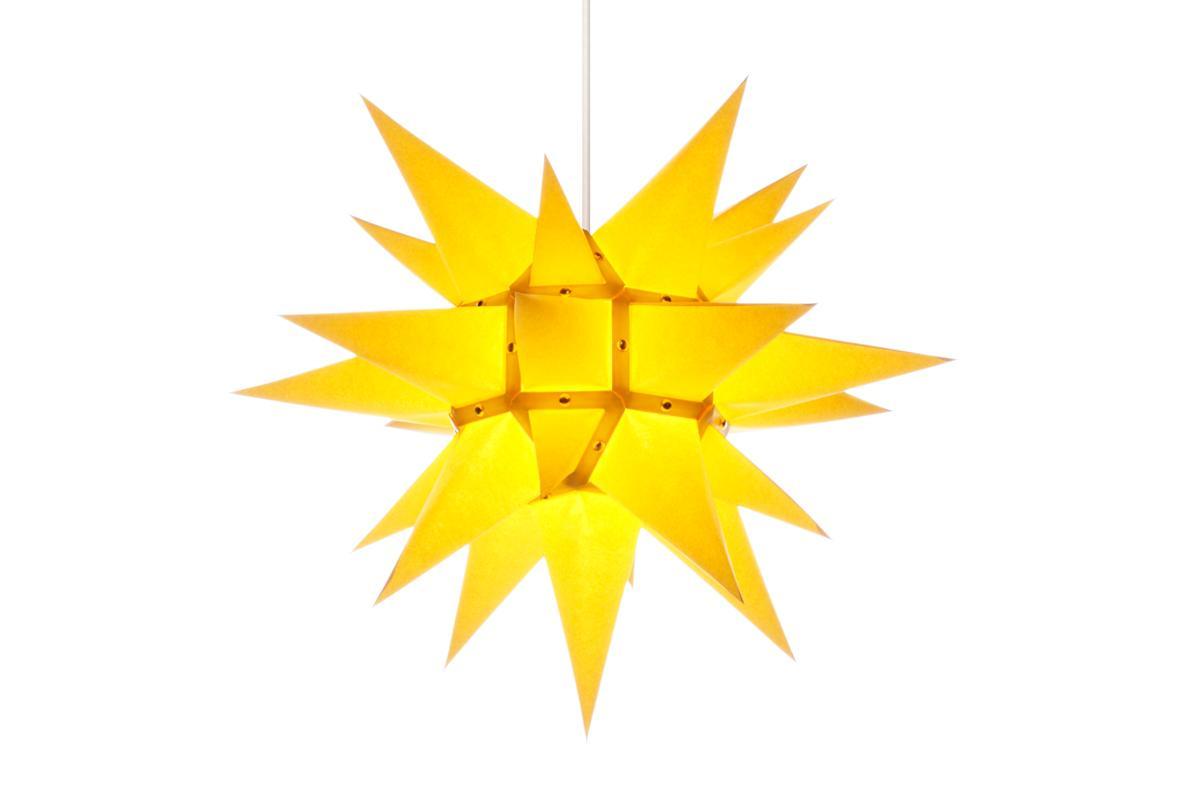 herrnhuter stern papier i4 gelb online kaufen herrnhuter. Black Bedroom Furniture Sets. Home Design Ideas