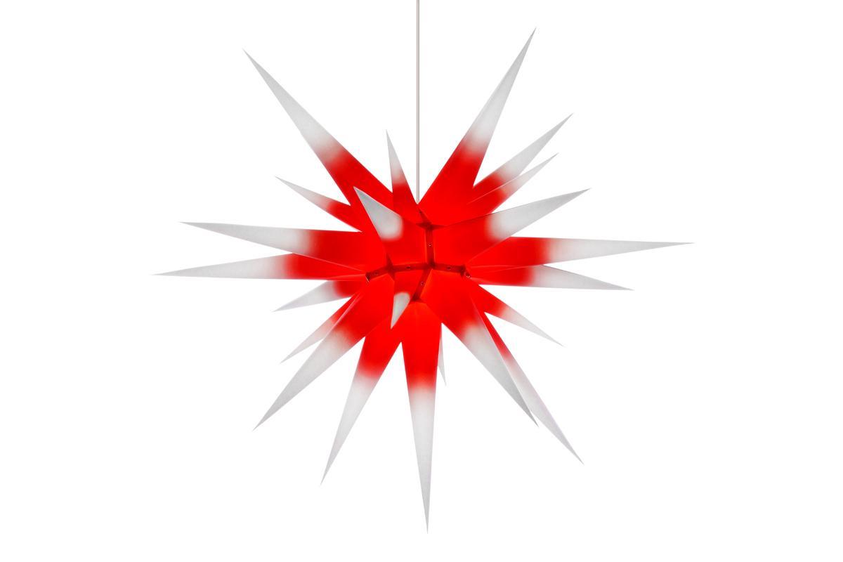 herrnhuter stern papier i8 wei kern rot kaufen. Black Bedroom Furniture Sets. Home Design Ideas