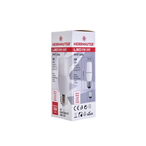 Herrnhuter Stern a4 Aussenstern blau inklusive 5 m Zuleitung Beleuchtung
