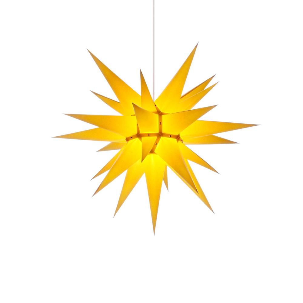herrnhuter stern papier i6 60 cm f r innen gelb von herrnhuter sterne f r 30 kaufen. Black Bedroom Furniture Sets. Home Design Ideas