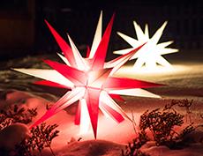 Herrnhuter Stern Beleuchtung | Herrnhuter Stern Beleuchtung Wohn Design